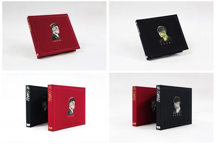 DONG BANG SHIN KI'S VOL.6 CATCH ME CD ALBUM (RED& BLACKVERSION)