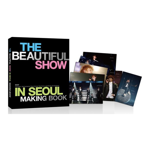 BEAST World Tour 'BEAUTIFUL SHOW' in Seoul Concert Making Book