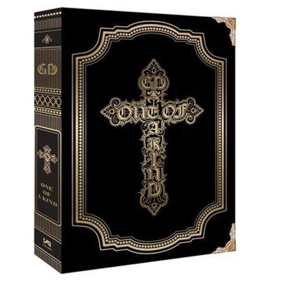 G-Dragon Mini Album Vol. 1 – 'One of A Kind' CD ALBUM + Limited Edition Poster (GOLD Version)
