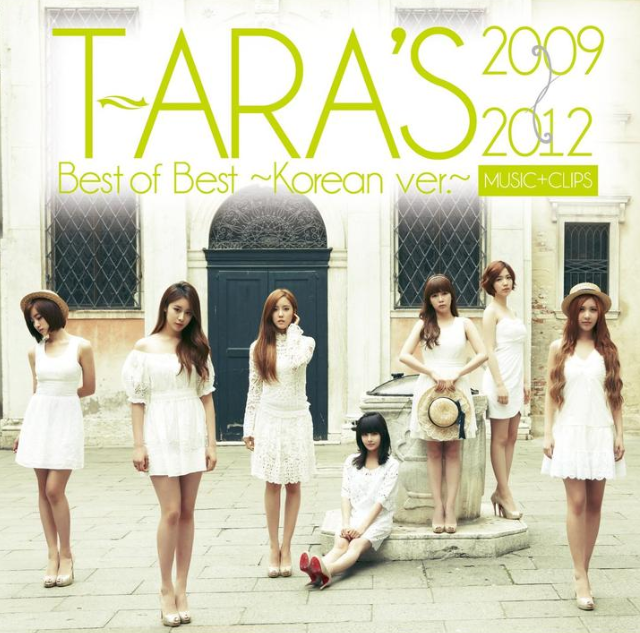 T-ARA'S BEST OF THE BEST 2009-2012 CD+DVD ALBUM (KOREAN VERSION) [MUSIC+CLIPS]