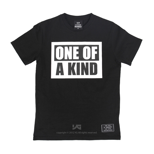 PRE-ORDER G-DRAGON'S FIRST MINI ALBUM 'ONE OF A KIND' T-SHIRT