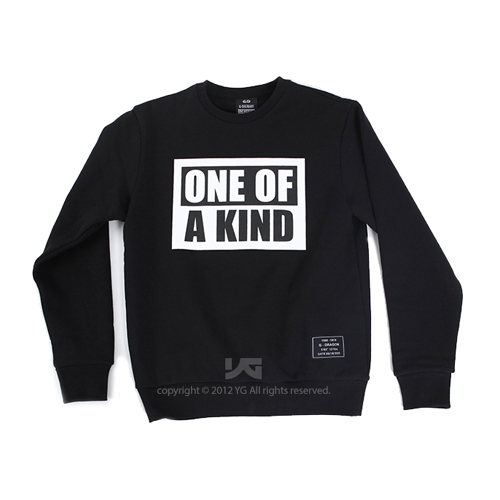 PRE-ORDER G-DRAGON'S FIRST MINI ALBUM 'ONE OF A KIND' SWEATSHIRT