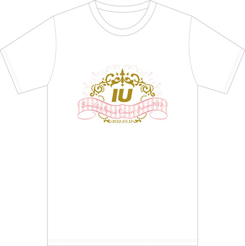 PRE-ORDER IU'S FRIENDSHIP SPECIAL CONCERT AUTUMN 2012 T-SHIRT