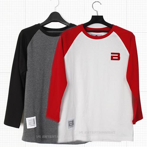 Pre order 2012 bigbang logo raglan shirt everything k for Order shirts with logo