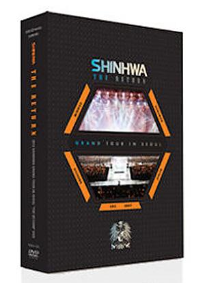 2012 SHINHWA'S GRAND TOUR IN SEOUL, 'THE RETURN' DVD + PHOTOBOOK