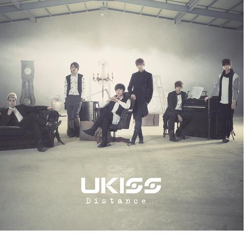 U-KISS 'DISTANCE' CD ALBUM (TYPE B) (JAPAN VERSION)