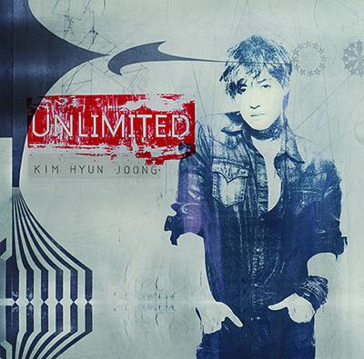 KIM HYUN JOONG'S 'UNLIMITED' CD ALBUM NORMAL EDITION (JAPAN VERSION)