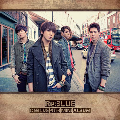 PRE-ORDER CN BLUE'S RE:BLUE 4TH MINI ALBUM