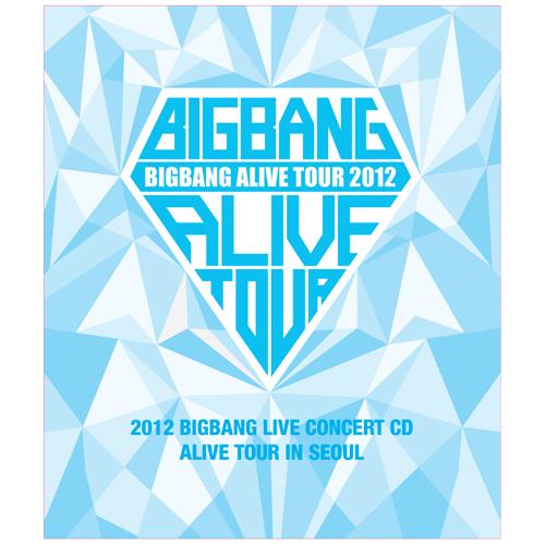 PRE-ORDER BIG BANG's 2012 LIVE CONCERT CD [ALIVE TOUR INSEOUL]
