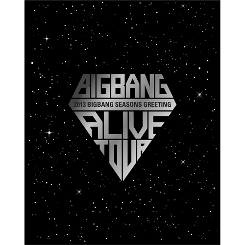 PRE-ORDER 2013 BIGBANG SEASONS GREETINGS DESKCALENDAR