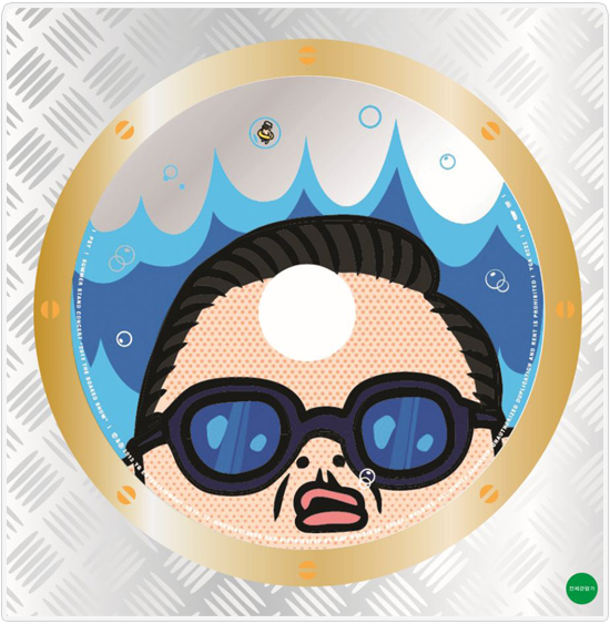 PRE-ORDER PSY SUMMER STAND CONCERT DVD ALBUM 2012 [THE WATER SHOW