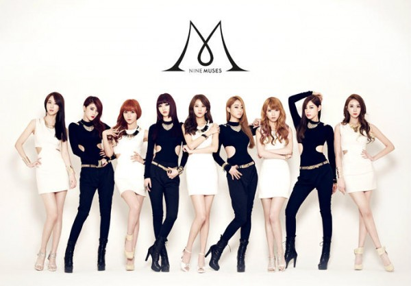 PRE-ORDER NINE MUSES 2ND SINGLE CD ALBUM-DOLLS