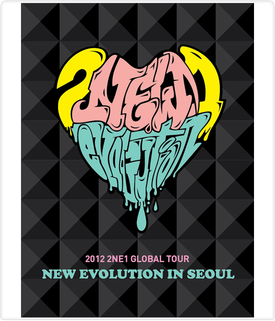 PRE-ORDER 2012 2NE1 GLOBAL TOUR LIVE DVD [NEW EVOLUTION IN SEOUL]