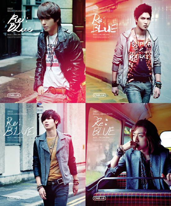 PRE-ORDER CN BLUE'S RE: BLUE 4TH MINI ALBUM (SPECIAL LIMITED EDITION)