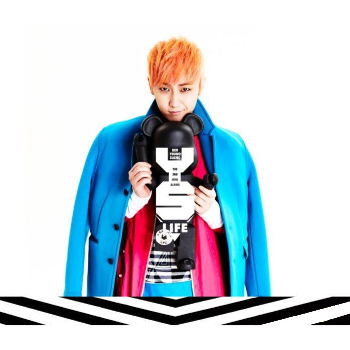 PRE-ORDER HEO YOUNG SAENG MINI ALBUM VOL.3- LIFE