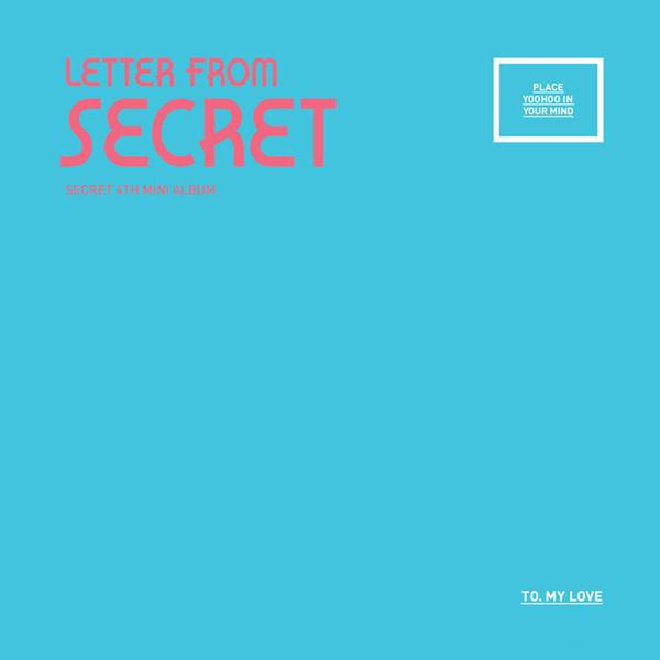 PRE-ORDER SECRET'S MINI ALBUM, VOL. 4 – LETTER FROMSECRET