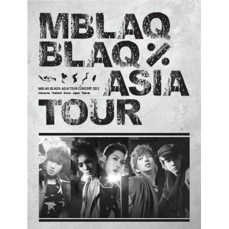 MBLAQ - ASIA TOUR CONCERT PHOTO BOOK